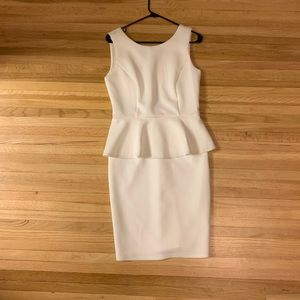 New Spense White Cocktail Dress size medium